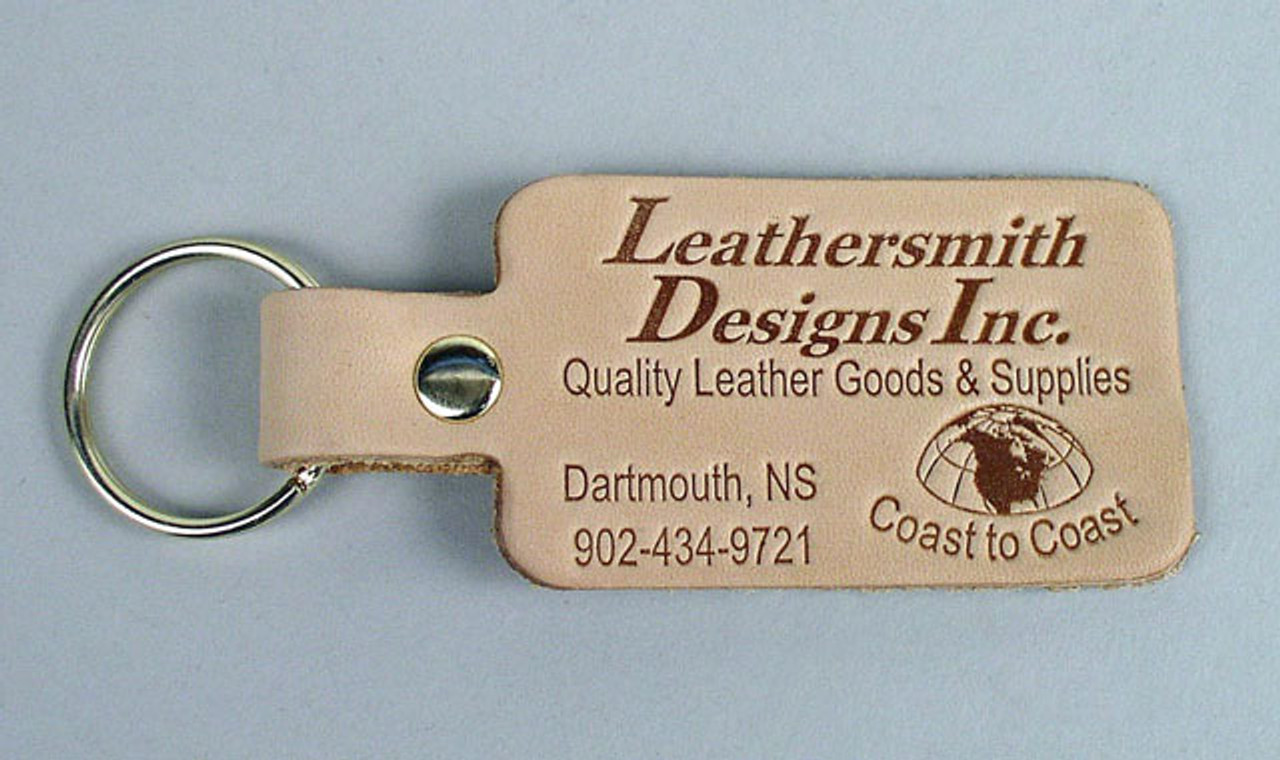 Promotional Leather Key Tags