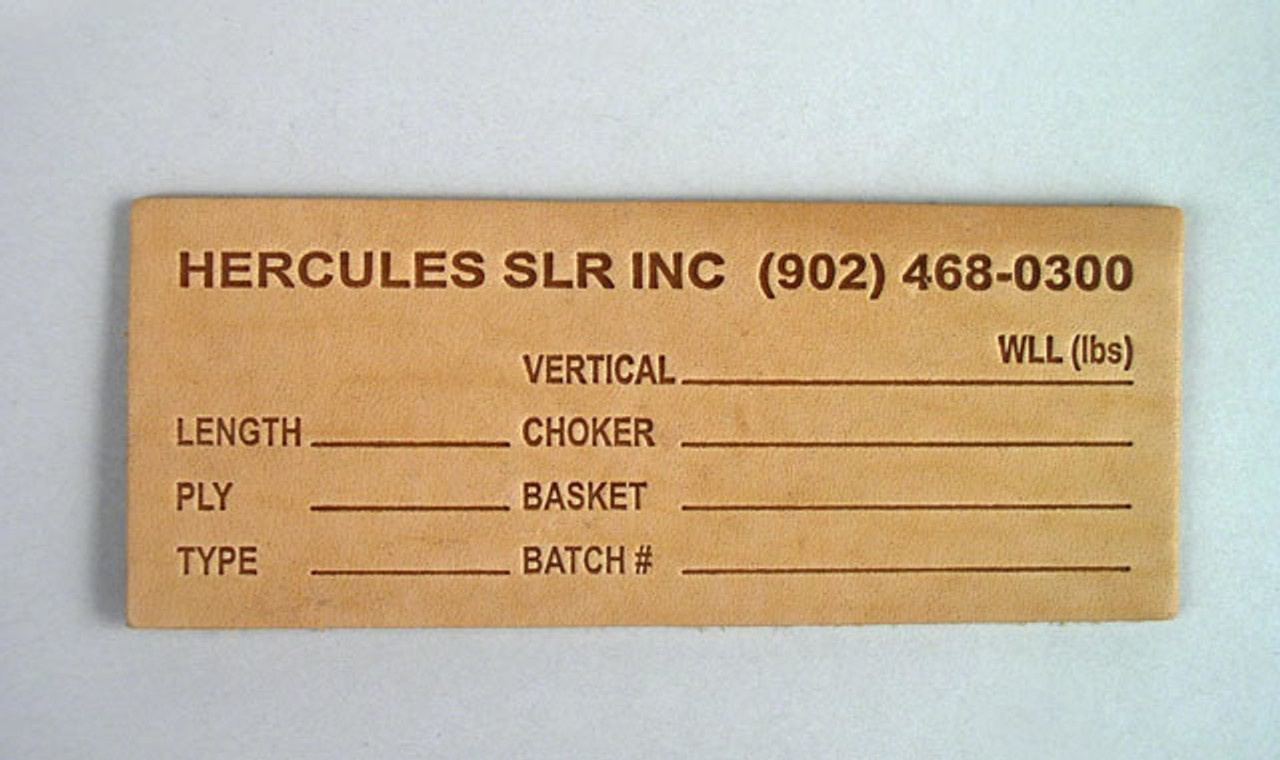 Leather Sling Tags