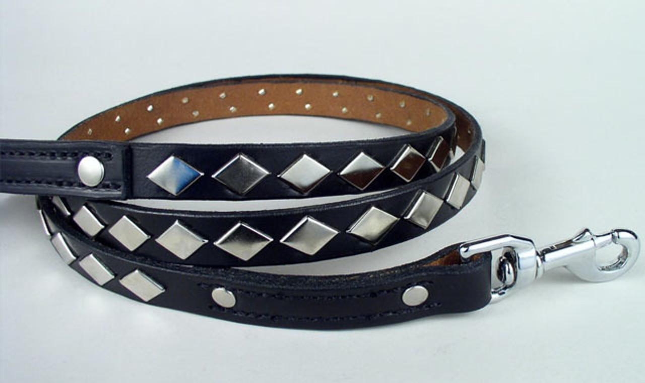 Studded Dog Leashes