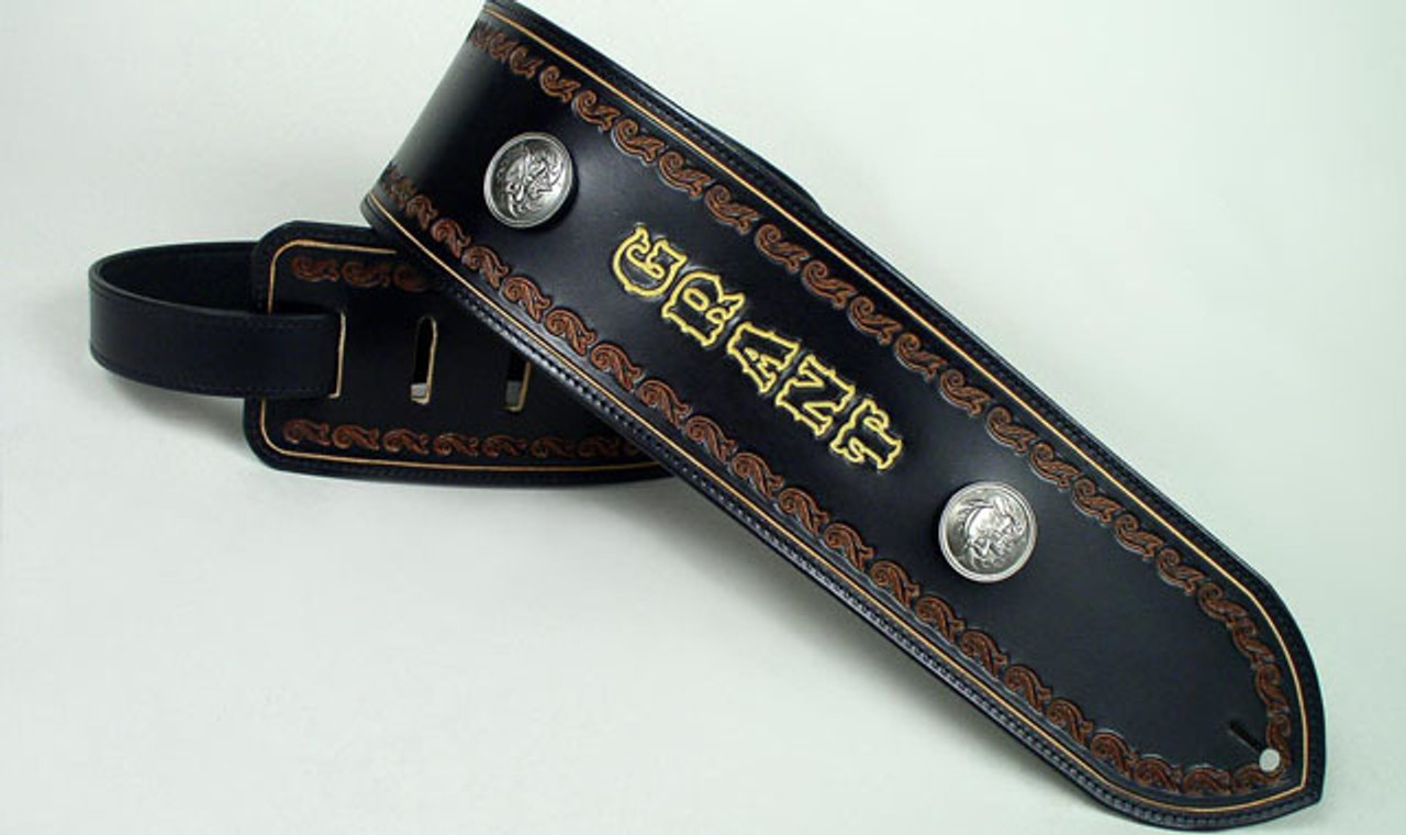 Wide Bass Guitar Straps