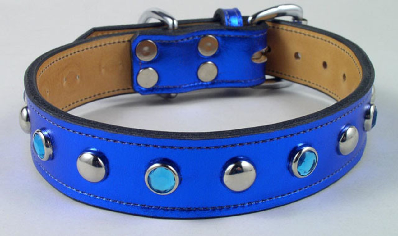 Dog Collars Metallic Bling
