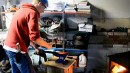 Making Knives By A Teenage Craftsman