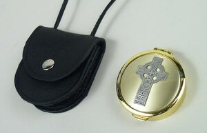 Leather Pouch For Communion Pyx