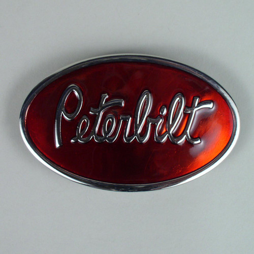 Peterbilt Belt Buckle (C) Fits 1 1/2 Inch Wide Belt.