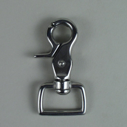 "1"" Scissor Snap Square Stainless Steel"