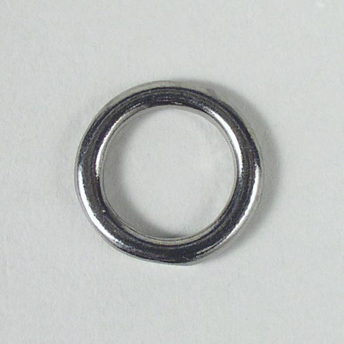 Solid cast O ring inside diameter is 1/2 inch.