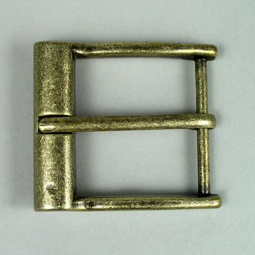 The inside diameter of this fashion belt buckle is 1 1/2 inch.