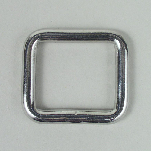 "Stainless Steel Welded Square 1"" Inch"