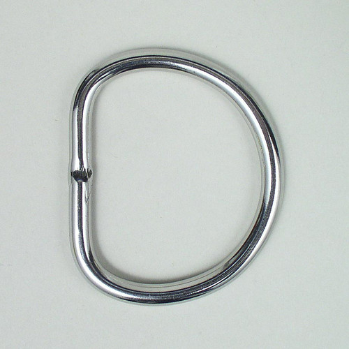 Welded D Ring Made Of Stainless Steel.