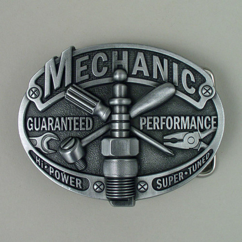 Mechanic Belt Buckle (F) Fits 1 1/2 Inch Wide Belt.