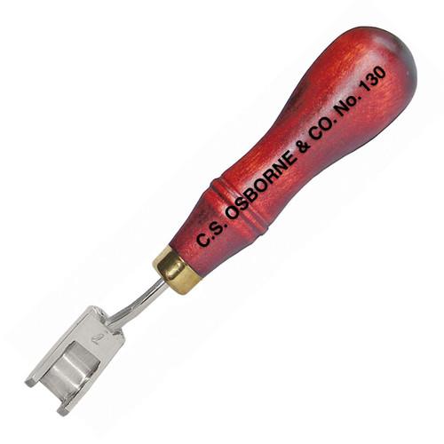 """C.S. Osborne French Edge Tool 1/4"""""""