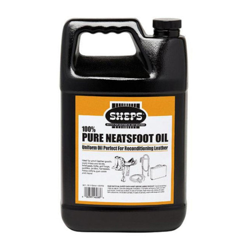 Sheps 100 percent pure neatsfoot oil is used to soften, recondition, preserve and waterproof leathers.