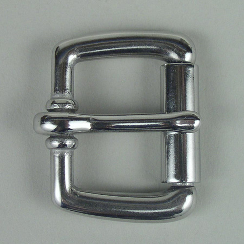 Stainless steel roller belt buckle inside diameter is 1 inch.