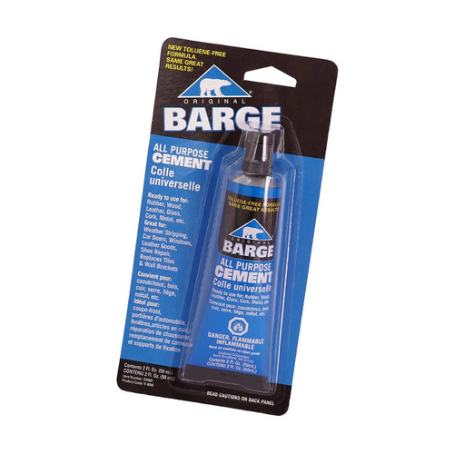 Barge All Purpose Cement for leather craft projects and leather repair.