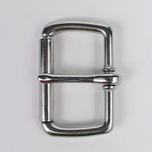 Stainless steel roller buckle inside diameter is 2 inches.