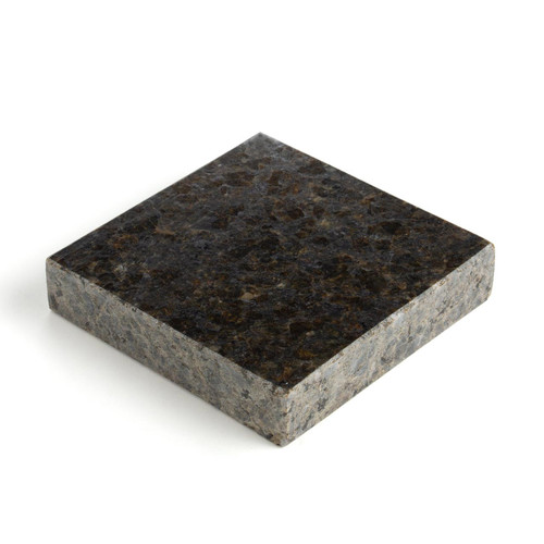 Deluxe granite slab smooth solid base used when stamping designs in tooling leather.