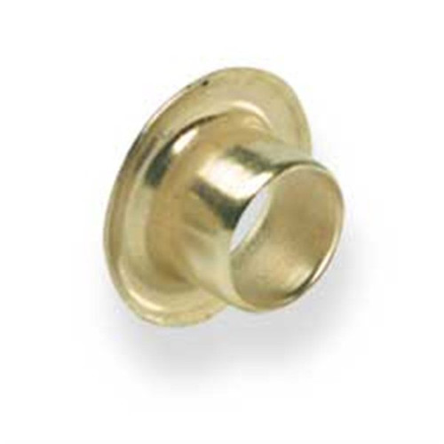 "Eyelets 1/4"" Hole Brass Plated"