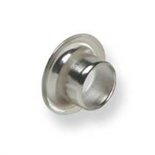 """Eyelets 1/4"""" Hole Nickel Plated"""