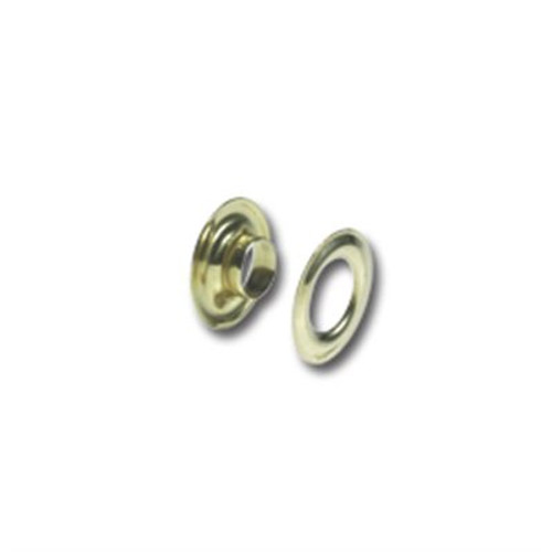 Gold Solid Brass Grommets (#00) 3/16""