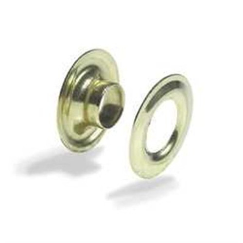 Gold Solid Brass Grommets (#1) 5/16""