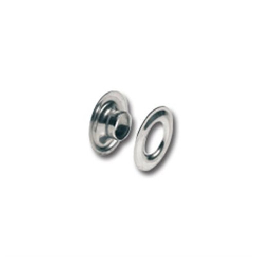 Nickel Solid Brass Grommets (#00) 3/16""