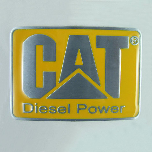 Cat Diesel Power Belt Buckle Fits 1 1/2 Inch Wide Belt.