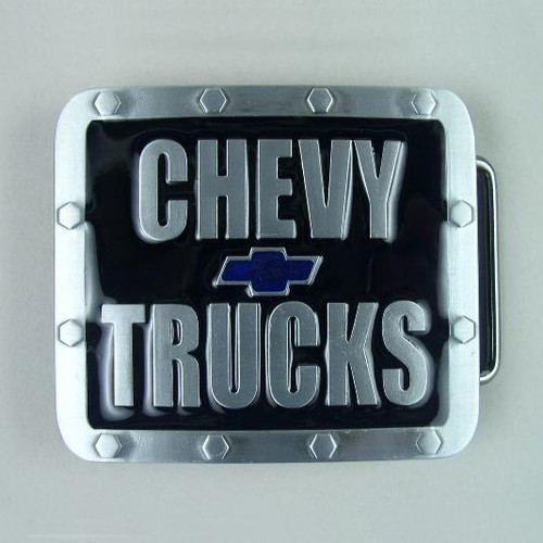 Chevy Trucks Belt Buckle Fits 1 1/2 Inch Wide Belt.
