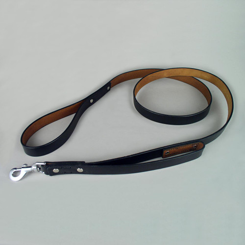 Double handle dog leash for great control.