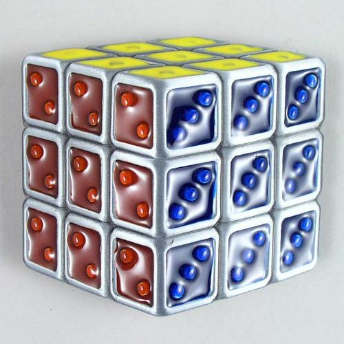 Rubik's Cube Belt Buckle Fits 1 1/2 Inch Wide Belt.