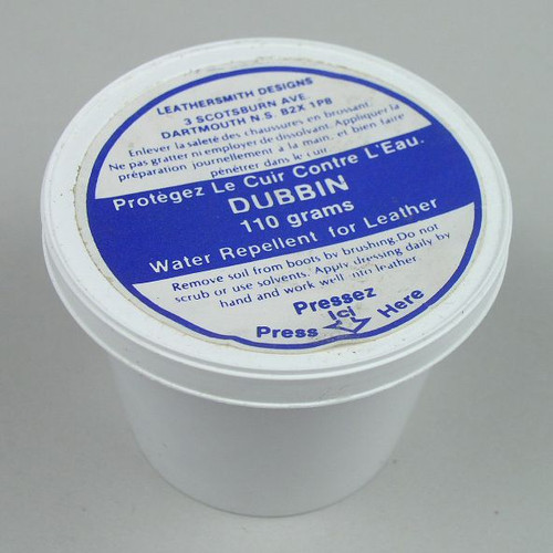Dubbin Leather Water Repellent 110g