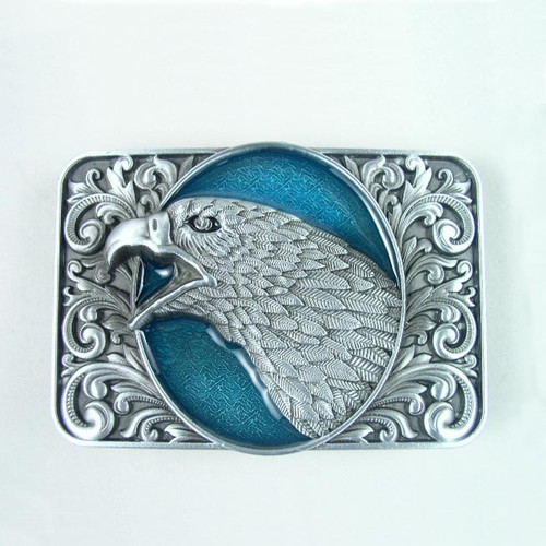 Eagle Belt Buckle (B) Fits 1 1/2 Inch Wide Belt.