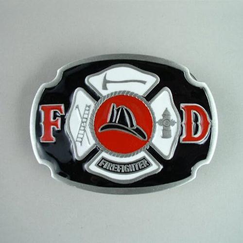 Firefighter Belt Buckle Belt Buckle Fits 1 1/2 Inch Wide Belt.