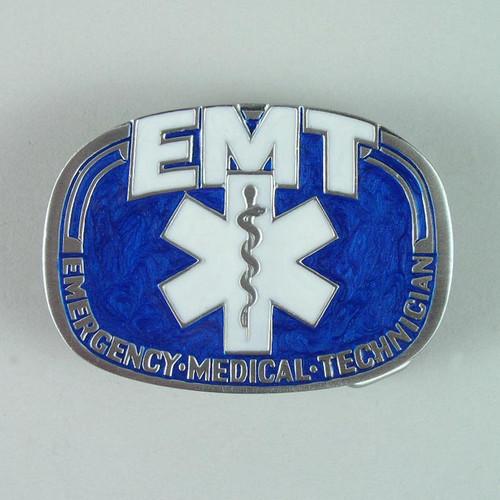 EMT Belt Buckle (A) Fits 1 1/2 Inch Wide Belt.