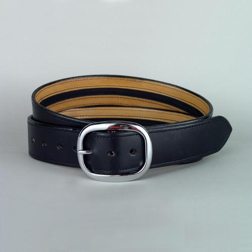 "Plain Leather Money Belt 1 3/4"" Wide"