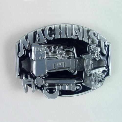 Machinist Belt Buckle Fits 1 1/2 Inch Wide Belt.