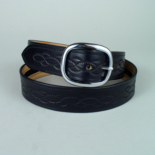"Design Only Leather Money Belt 1 1/2"" Wide"