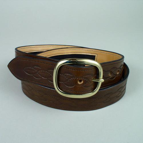 "Design Only Leather Money Belt 1 3/4"" Wide"