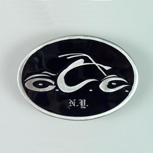 Orange County Choppers Belt Buckle Fits 1 1/2 To 1 3/4 Inch Wide Belts.