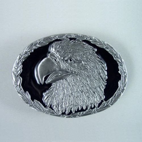 Eagle Belt Buckle (E) Fits 1 1/2 To 1 3/4 Inch Wide Belts.