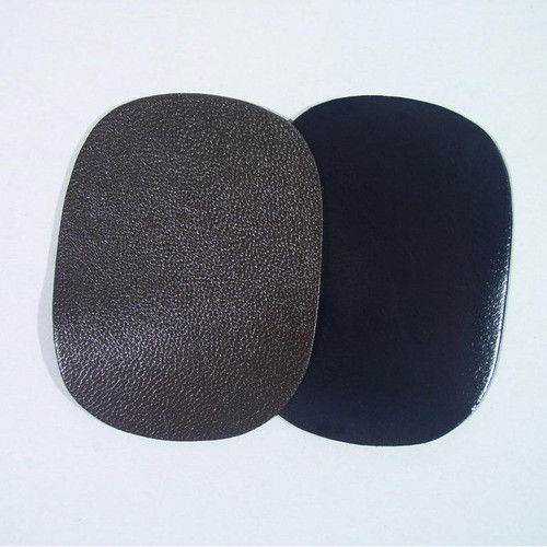 Our goatskin is available in brown or black.