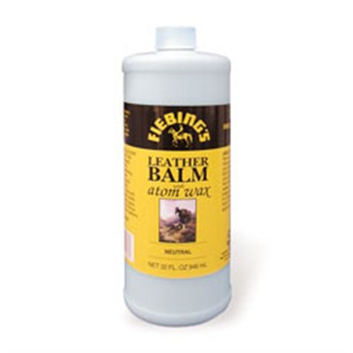 Leather Balm with Atom Wax Neutral Leather Polish 946ml