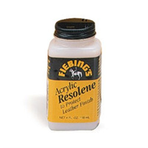 Fiebing's Resolene is an acrylic leather finish and sealant that gives a polished look to your leathercraft items. 118 mL (4 oz)