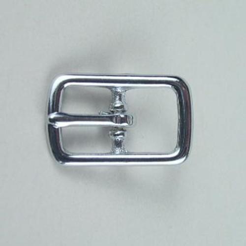 Center bar buckle inside diameter is 1/2 inch.