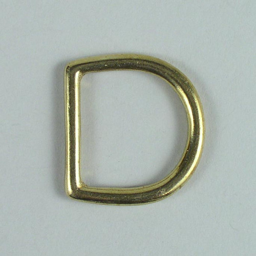 D ring hardware inside diameter is 1 inch.