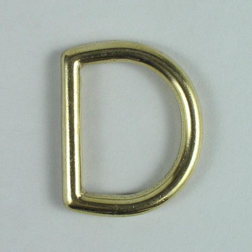 Heavy duty D-ring inside diameter is 1 1/2 inch