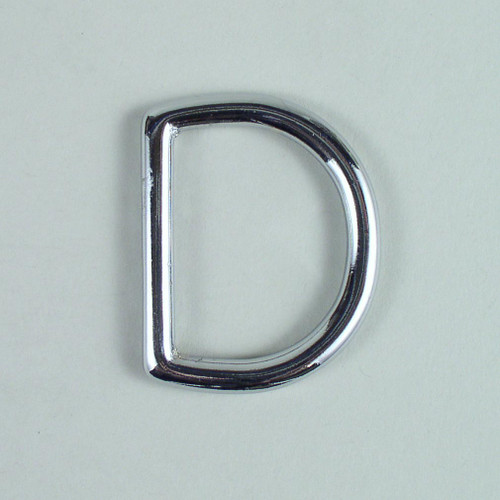 D ring hardware inside diameter is 1 1/2 inch.