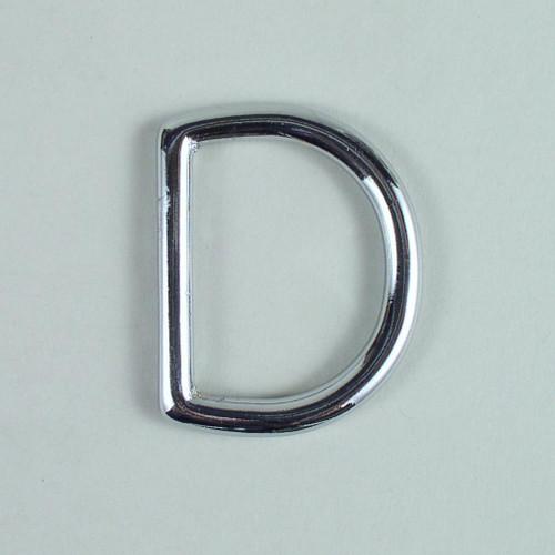 D ring hardware inside diameter is 1 1/2 inch.