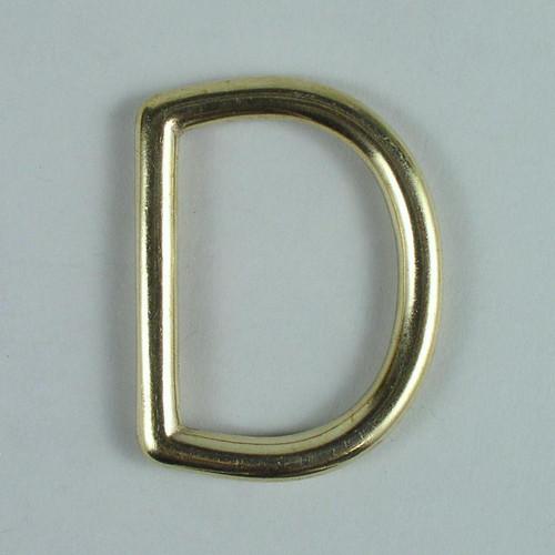 Solid Cast Dee ring inside diameter is 1 3/4 inch.