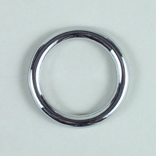 Solid cast O ring inside diameter is 1 1/4 inch.