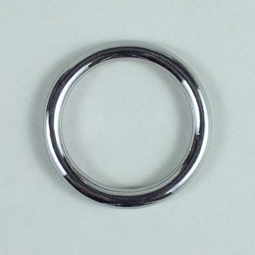 Solid cast O ring inside diameter is 1 1/2 inch.